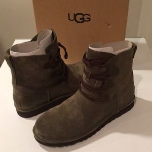 🌹❤️New Ugg Elvi Sueded Laced up boots Sz 5